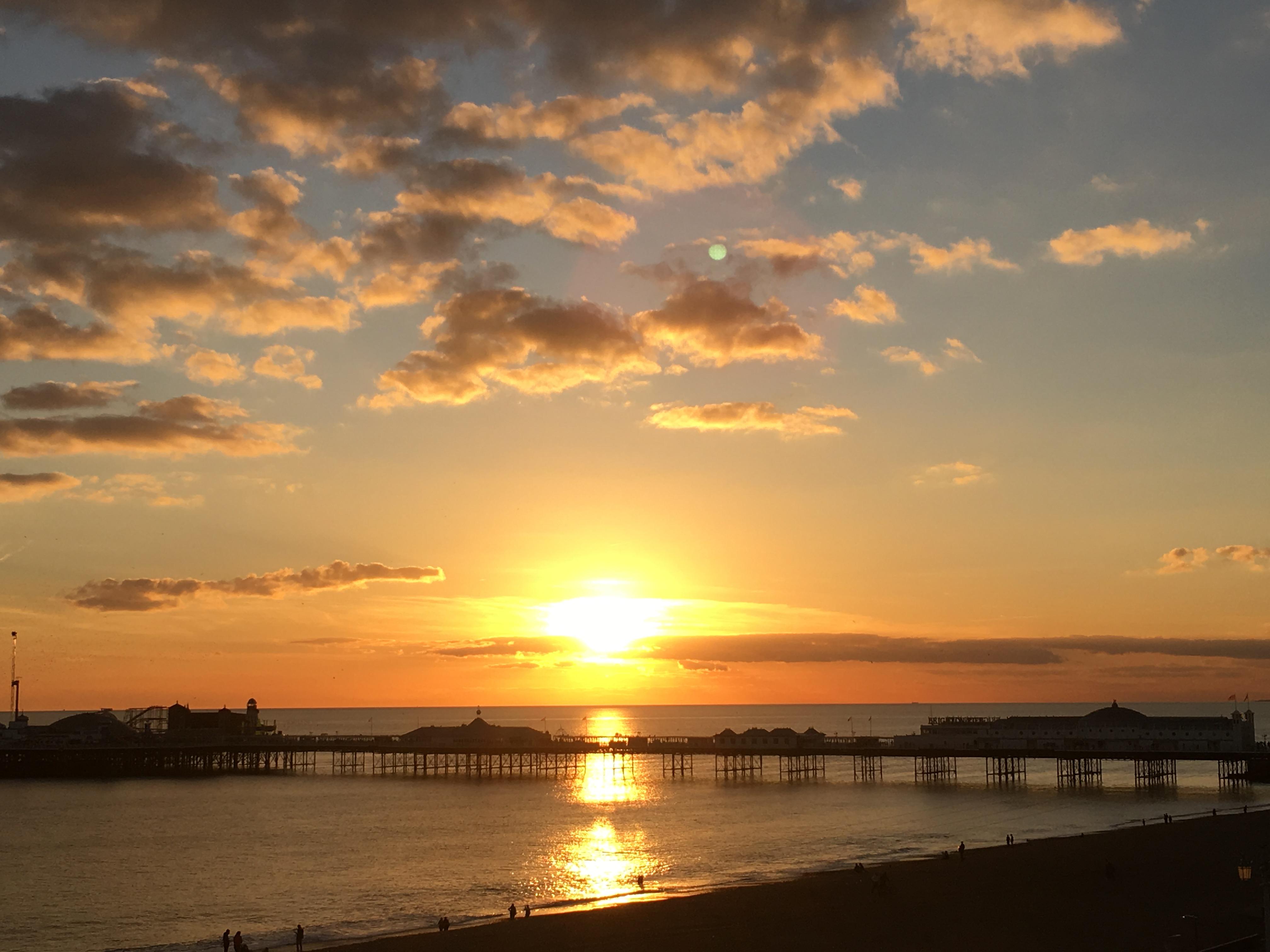 sunset beautiful world